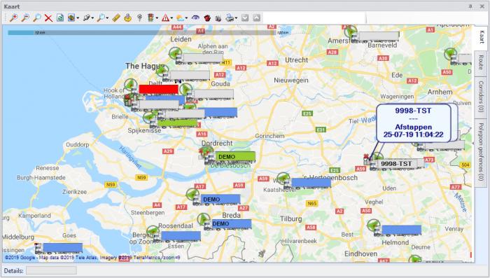 Kaart tracking