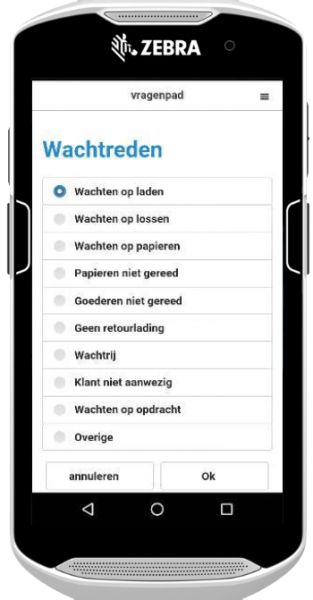 MobiScout Mobile vragenpad